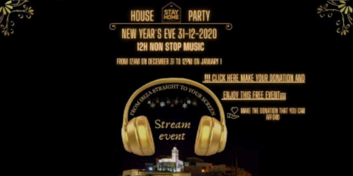 Célébrez ce réveillon du Nouvel An avec ADMEFY et aidez Cáritas Ibiza Eventos Ibiza Consciente