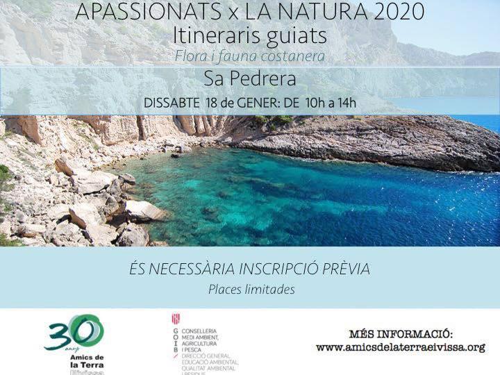Excursión guiada a Sa Pedrera con Amics de la Terra Ibiza
