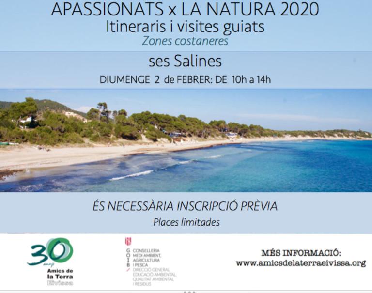 Excursión por Las Salinas con Amics de la Terra Ibiza