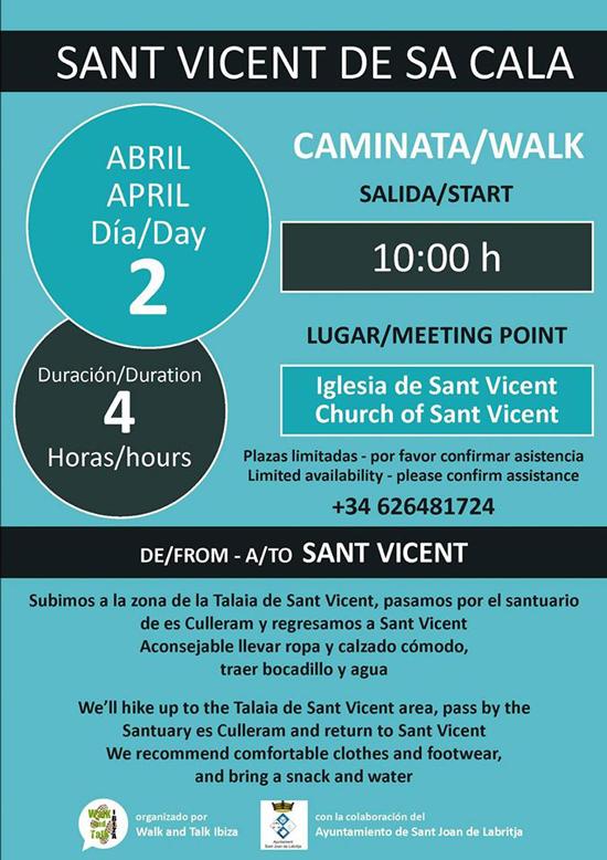Экскурсия в Сан-Висент-де-Са-Кала с прогулкой и беседой на Ибице