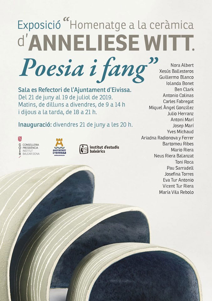 Poesia i Fang exhibition of homage to Anneliese Witt in Ibiza