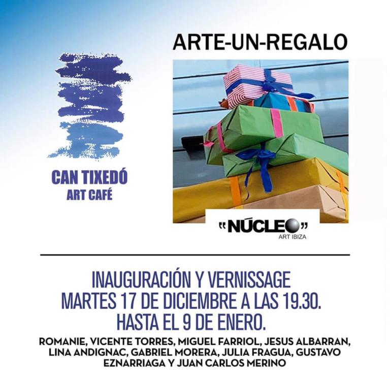 Exposición colectiva Arte-Un-Regalo en Can Tixedó