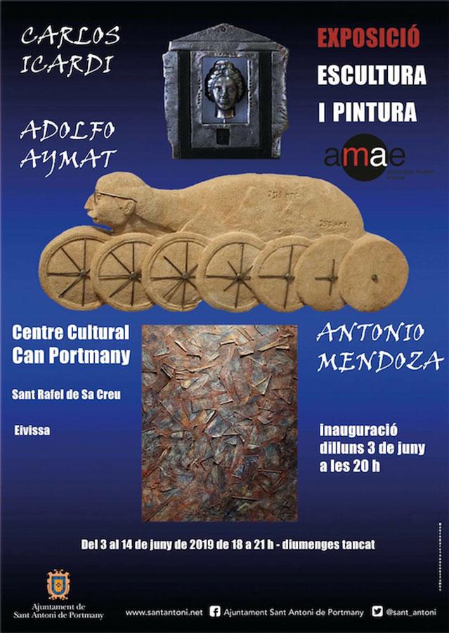 Exposición de Escultura y Pintura en Can Portmany