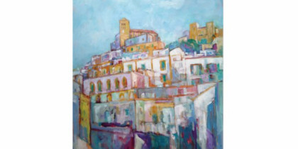 Colours of Ibiza, Ausstellung von Charlotte Mensforth im Can Portmany Cultura