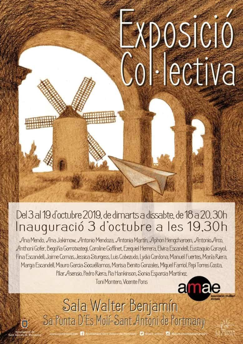Exposició col·lectiva de la AMAE a Sa Punta des Molí