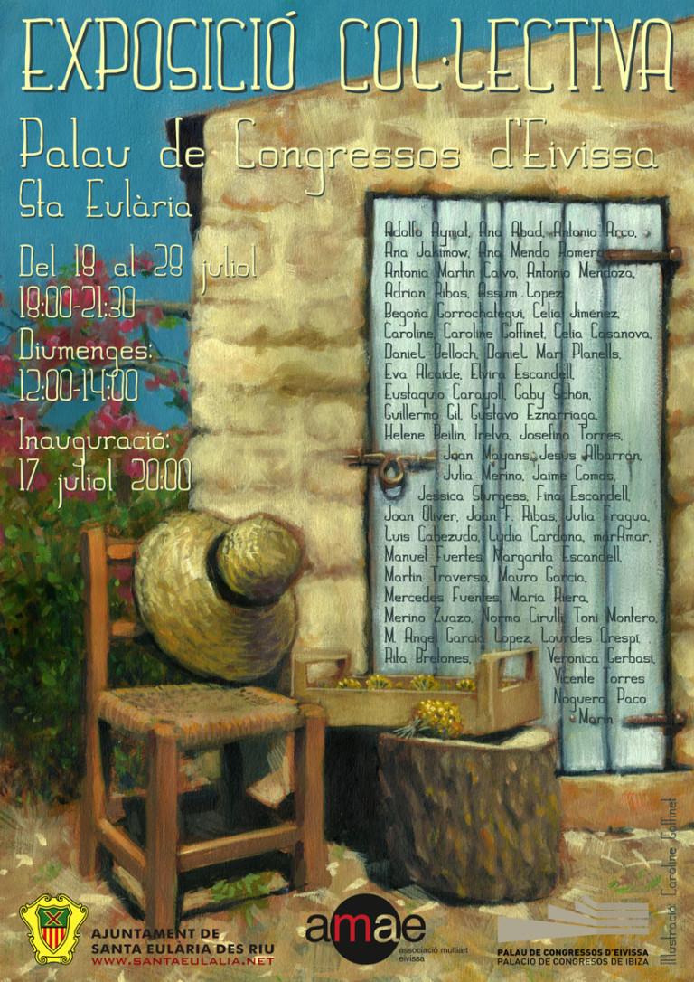 Gemeinschaftsausstellung der AMAE im Palacio de Congresos de Ibiza