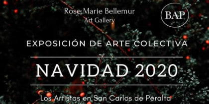 Collective art exhibition Christmas 2020 in San Carlos Cultura