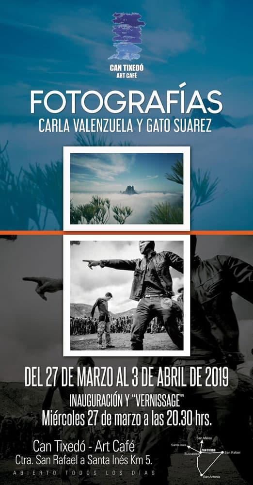 The photographs of Carla Valenzuela and Gato Suárez in Can Tixedó Ibiza