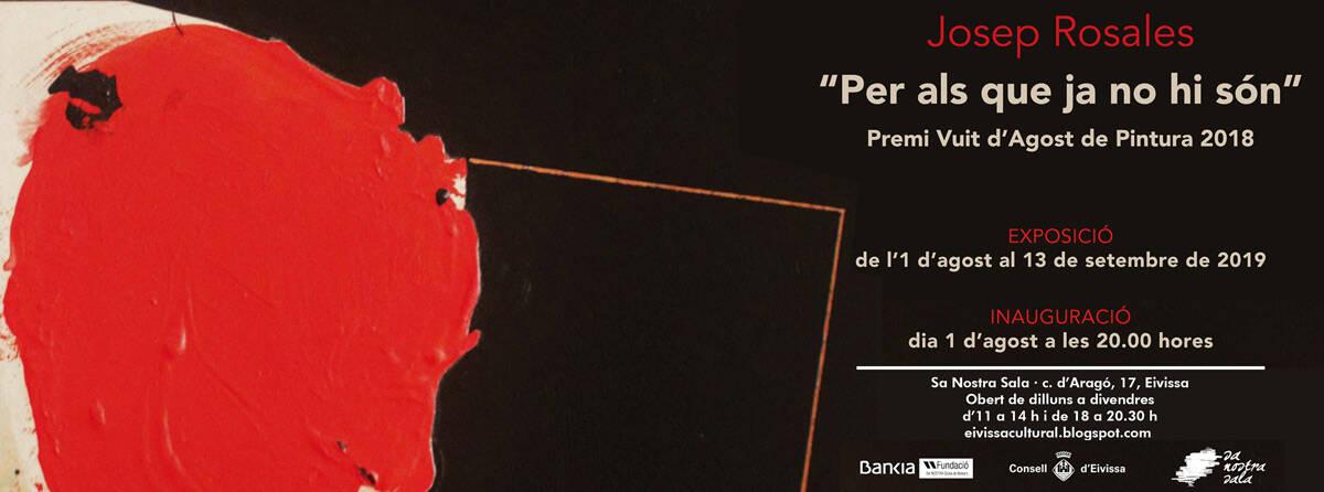 Exposition de peinture Josep Rosales à Sa Nostra Sala