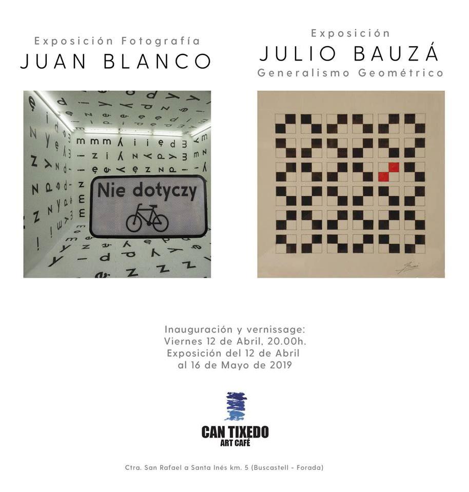 Juan Blanco y Julio Bauzá exponen sus obras en Can Tixedó Ibiza