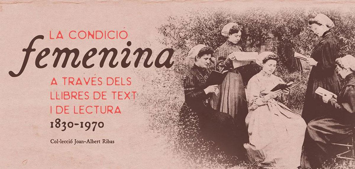 Exposición sobre la condición femenina en los libros en Sa Nostra Sala