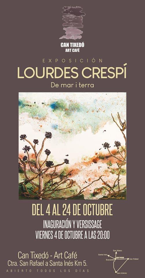De Mar i Terra: las obras de Lourdes Crespí en Can Tixedó