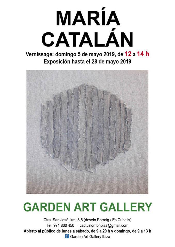 Exposición de María Catalán en Garden Art Gallery Ibiza