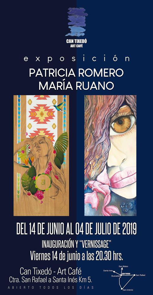Patricia Romero and María Ruano exhibit at Can Tixedó Ibiza