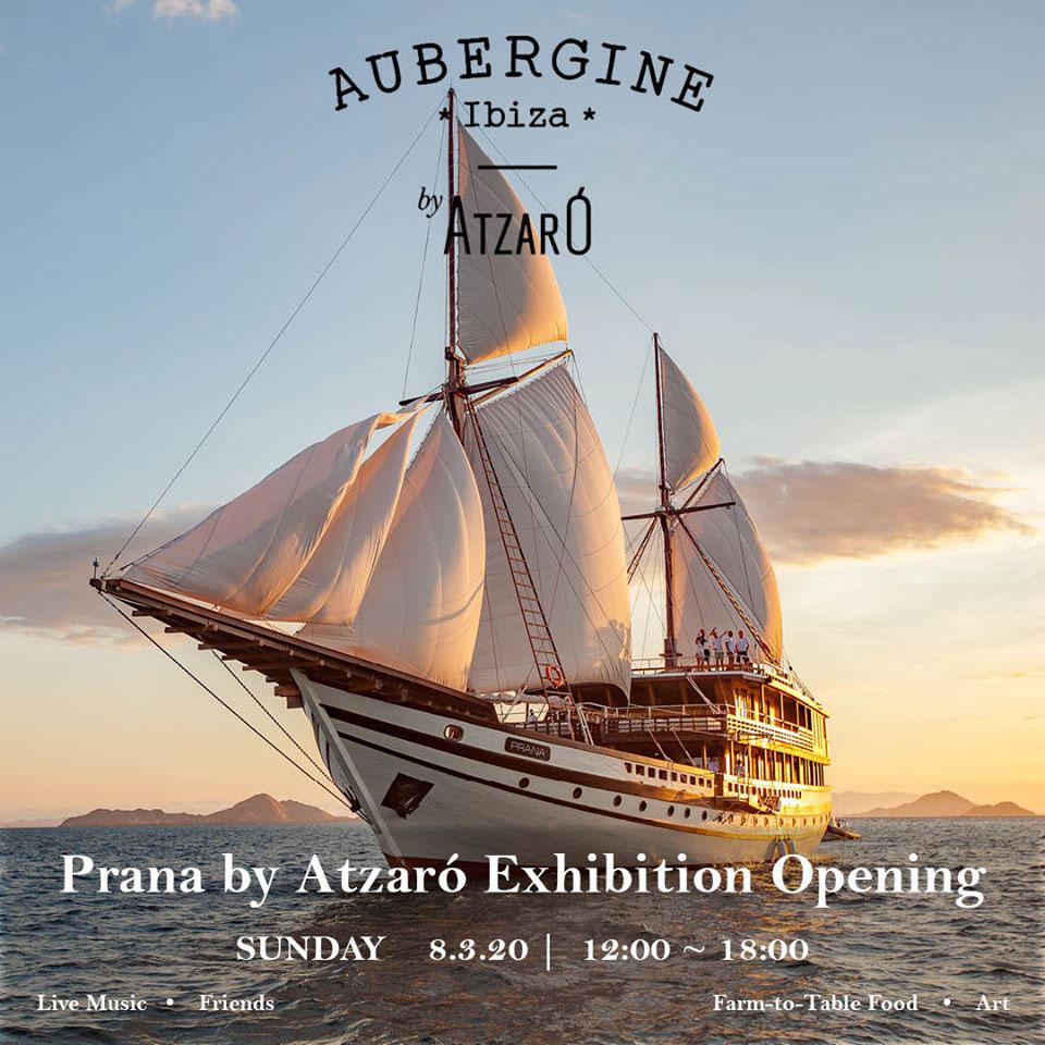 Выставка Prana by Atzaró в Баклажановой Ибице