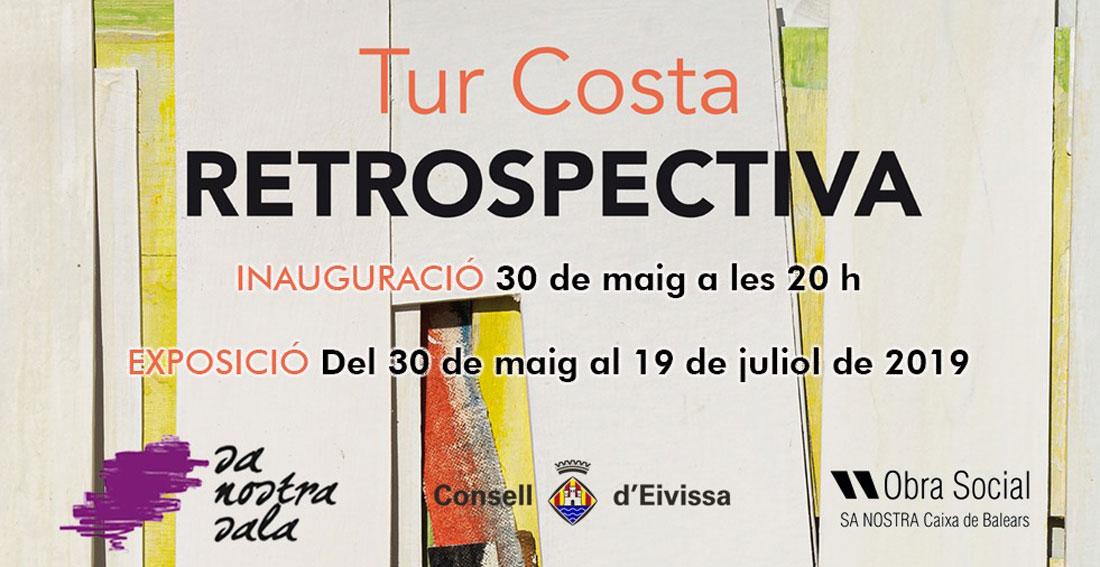Retrospective exhibition of Tur Costa in Sa Nostra Sala