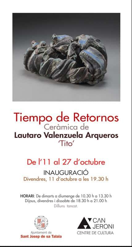 Temps de retour: Exposition de Lautaro Valenzuela Arqueros à Can Jeroni