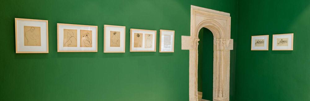 Dibujos de Vicent Calbet en el Museo Puget de Ibiza