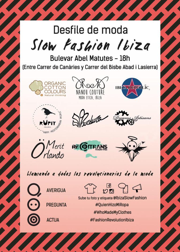 Fashion Revolution Day en Ibiza