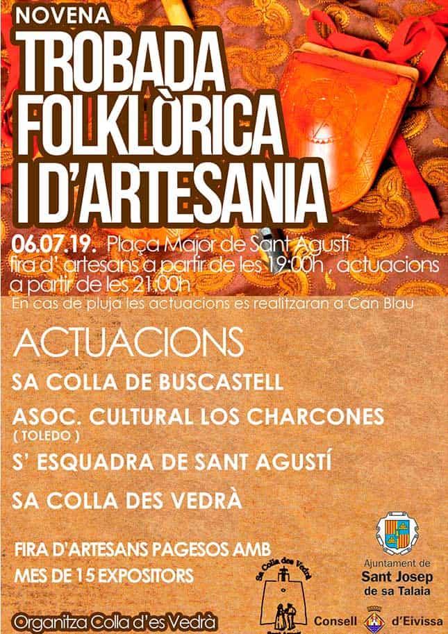 Neuvième rencontre folklorique d'artisanat à Ibiza