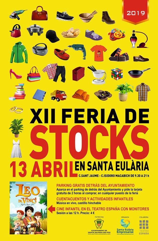 XII Aktienmesse am Samstag in Santa Eulalia