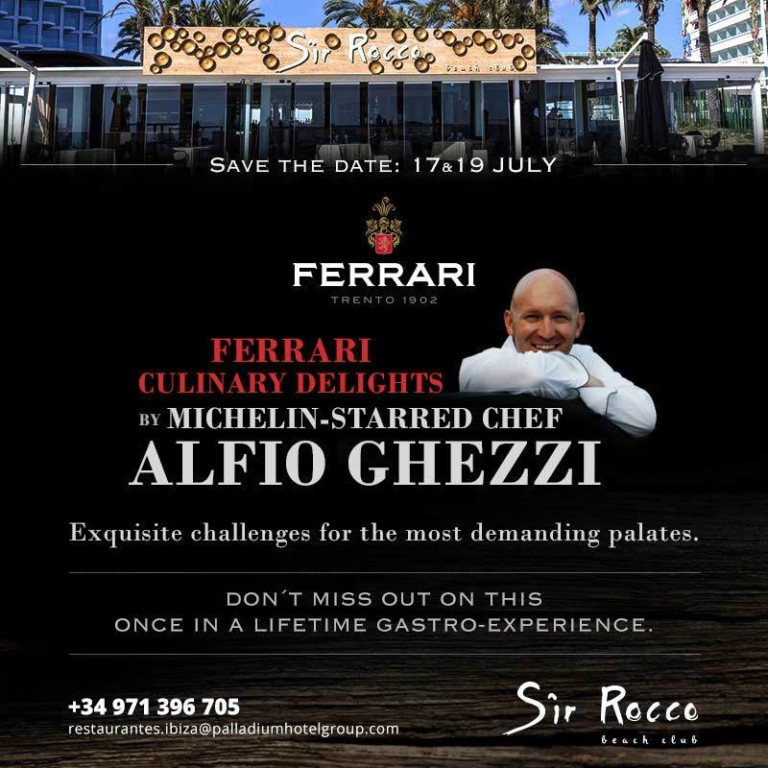 Experience the Ferrari experience at Ushuaïa Ibiza