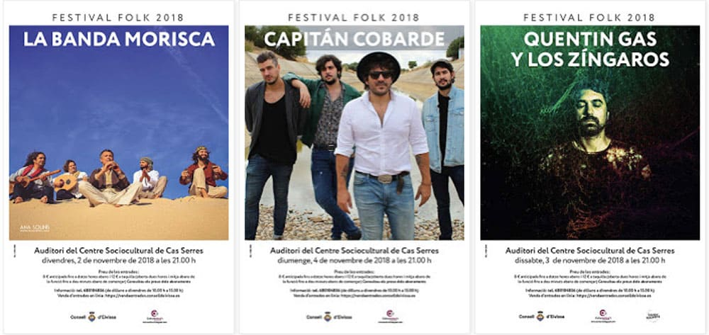 Второй выпуск Народного Фестиваля в актовом зале Cas Serres Ibiza