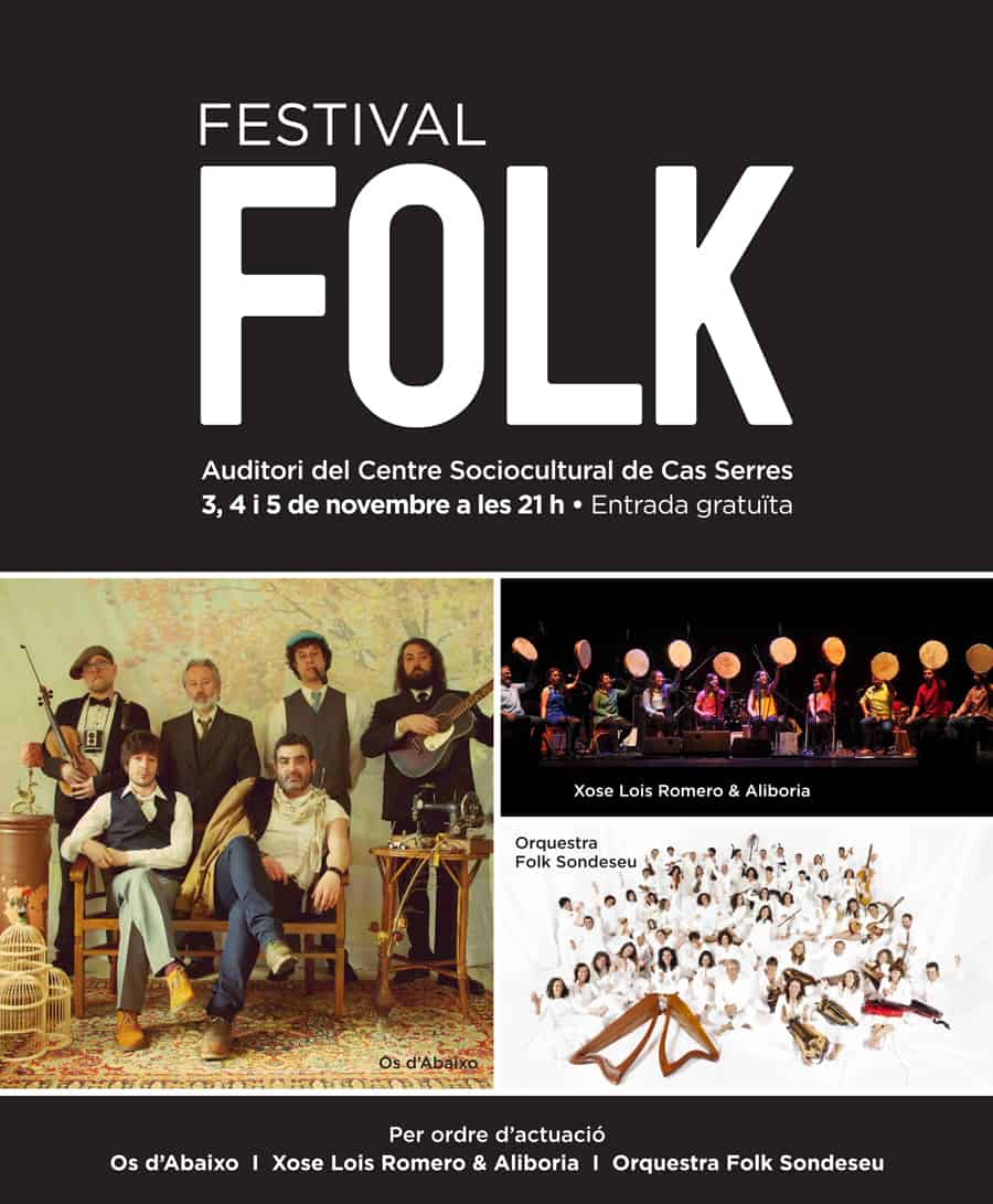 2017 Folk Festival im Auditorium von Cas Serres Ibiza