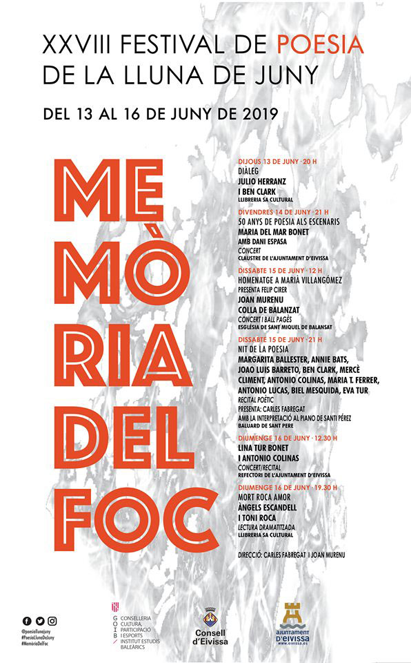 XXVIII. Poesiefestival von La Lluna de Juny
