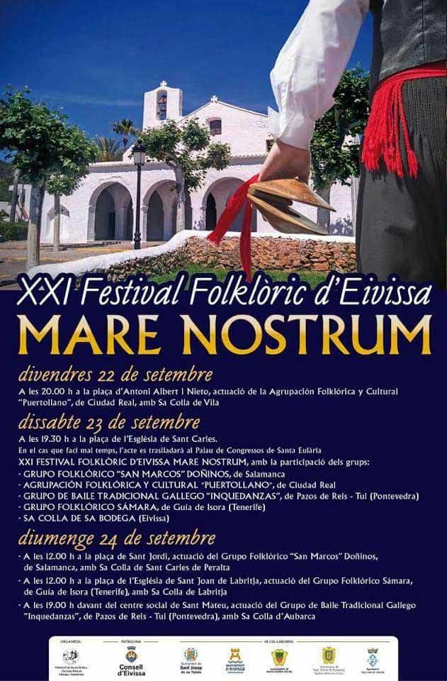 XXI Folk Festival Ibiza Mare Nostrum 2017