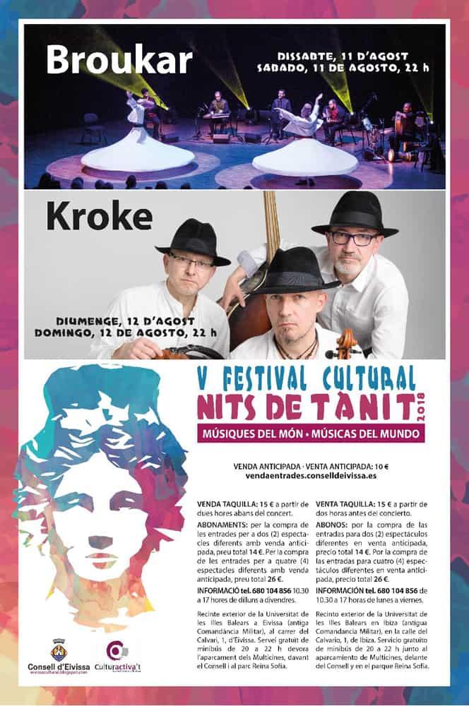 Músiques del món aquest cap de setmana amb el Festival Nits de Tanit