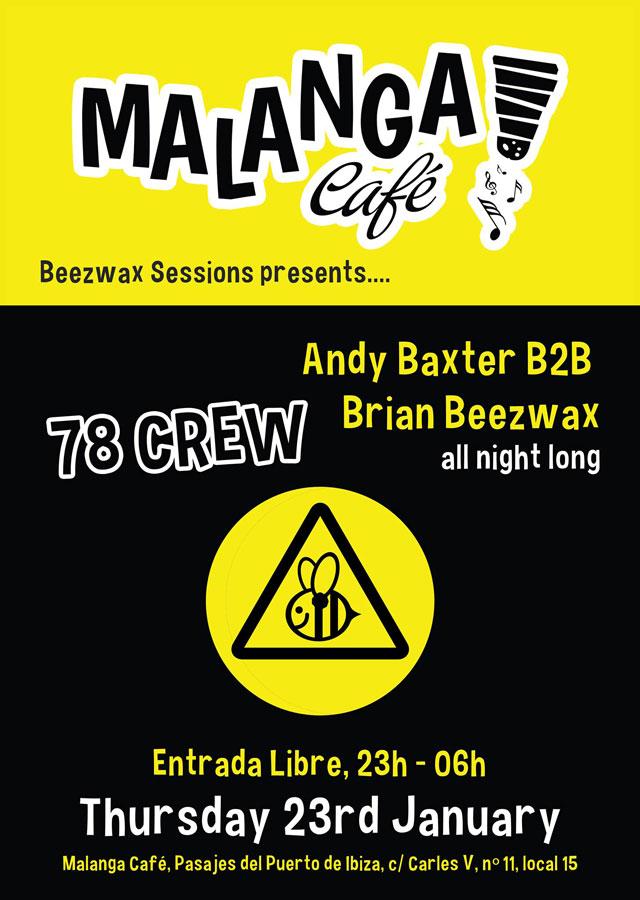 78 Crew в Маланга Кафе Ибица