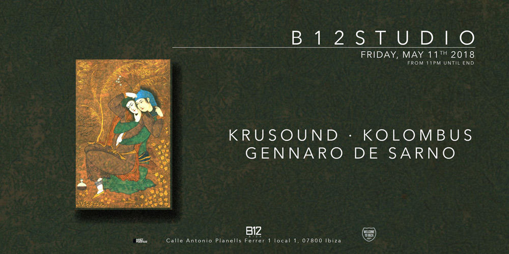Everything can happen in B12 Studio this Friday at B12 Ibiza