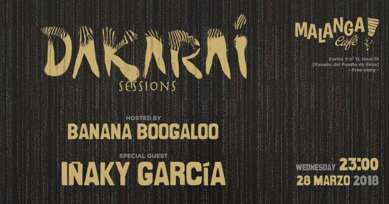 Tribal Wednesday with Dakarai Sessions at Malanga Café Ibiza