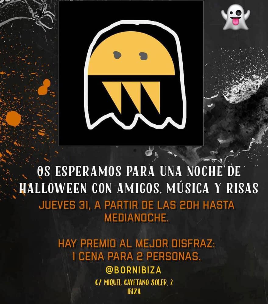 Halloween-Nacht bei Born Ibiza