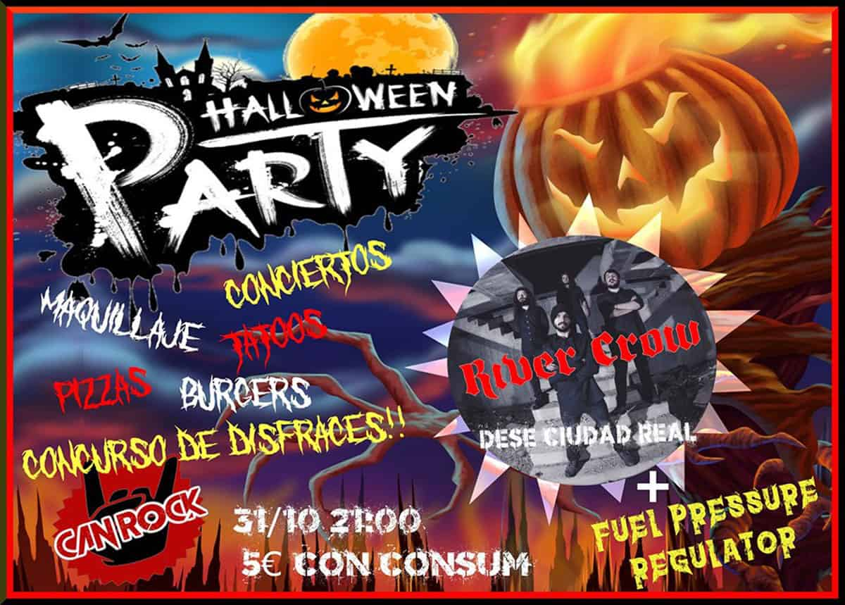Halloween-Party in Can Rock Ibiza