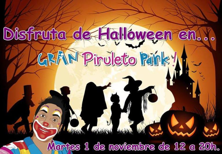 Хэллоуин для детей в парке Пирулето
