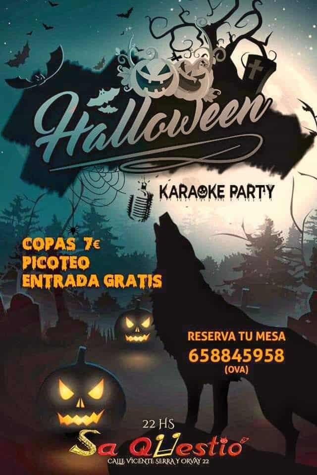 Halloween-Party in Sa Qüestió Ibiza