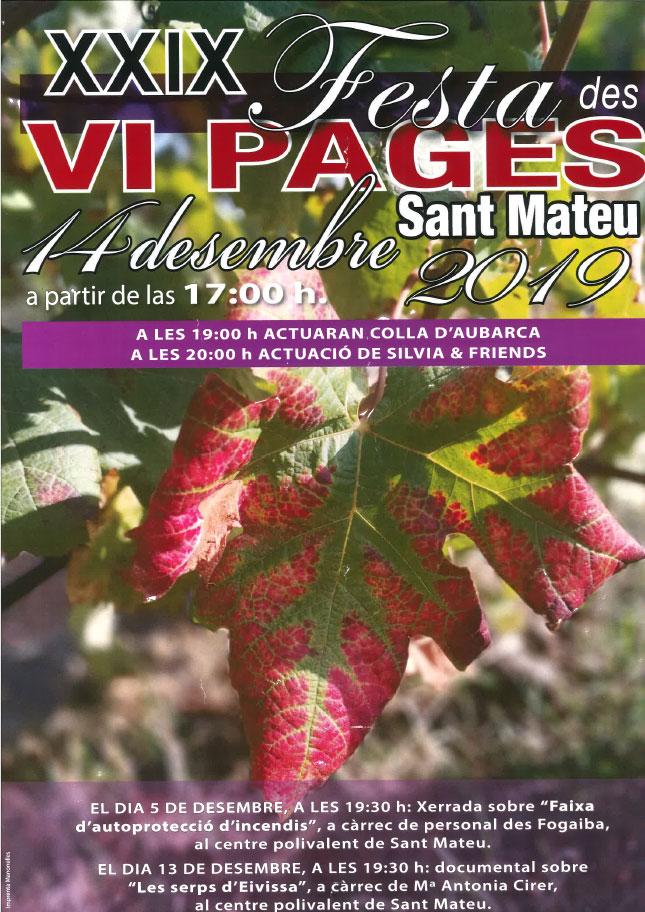XXIX Fiesta del vino payés en San Mateo