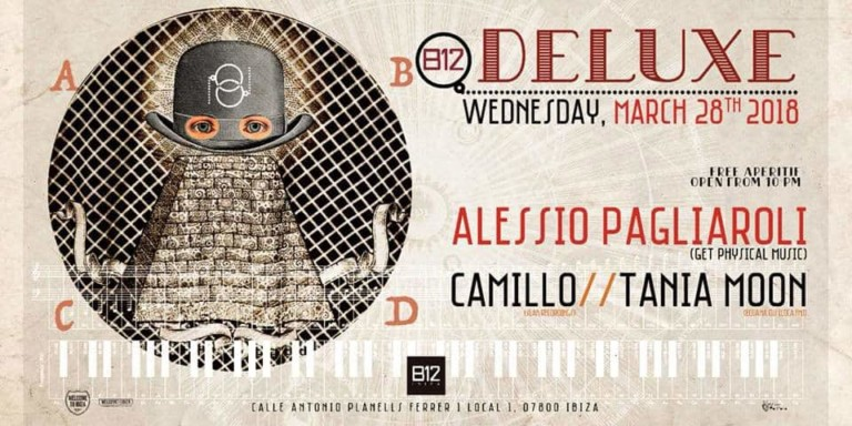 Third chapter of Deluxe on B12 Ibiza with Get Physical Music