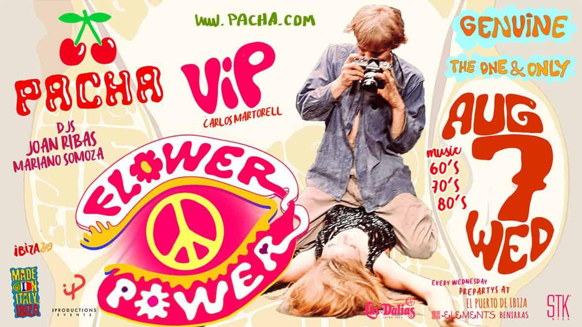 Flower Power VIP auf Pacha Ibiza