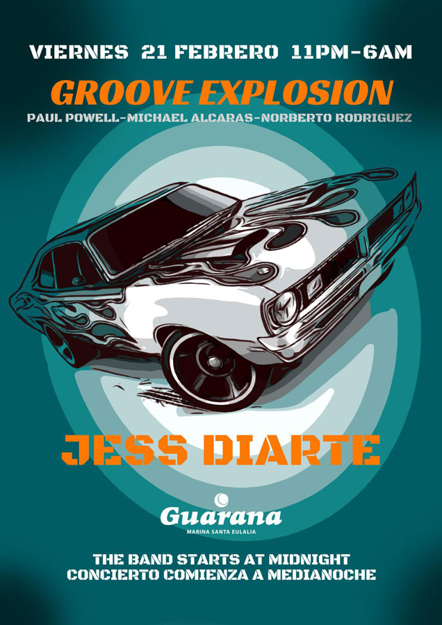 Groove Explosion pour commencer le week-end au Guarana