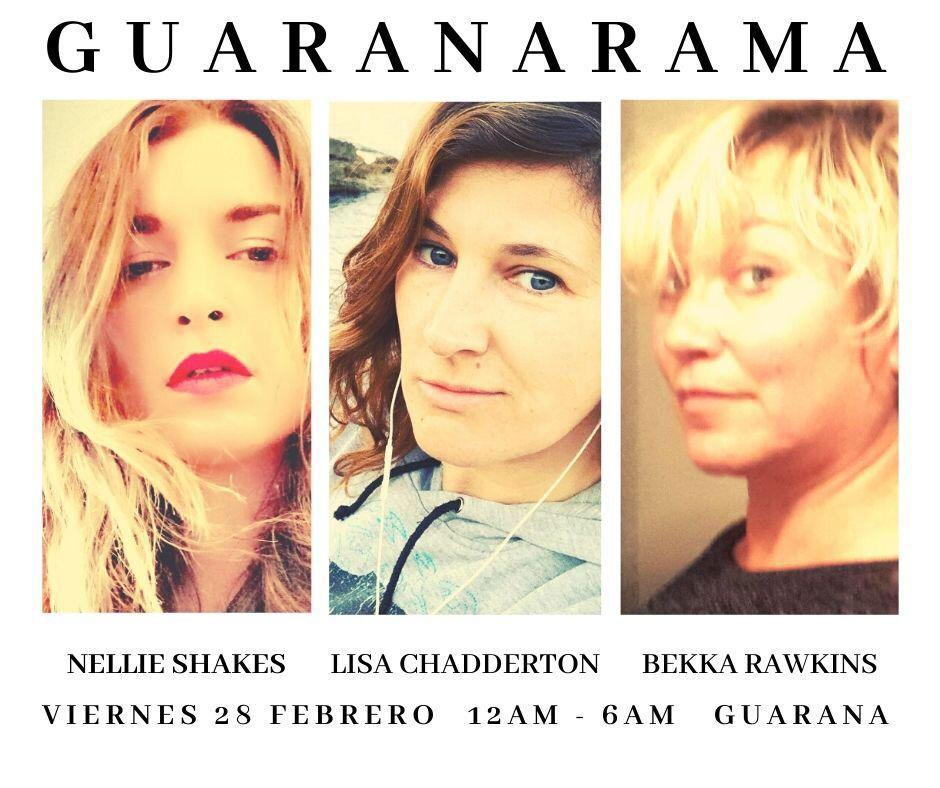 Гуаранара: три великих диджея начинают выходные в Гуарана