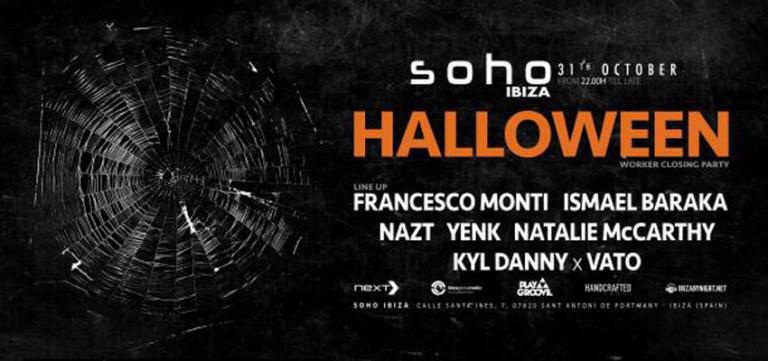 Хэллоуин на Сохо Ибица