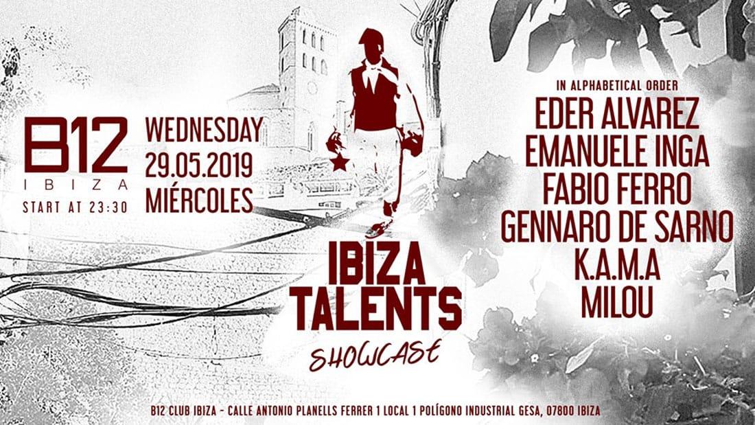 Showcase de Ibiza Talents en el club de B12 Ibiza