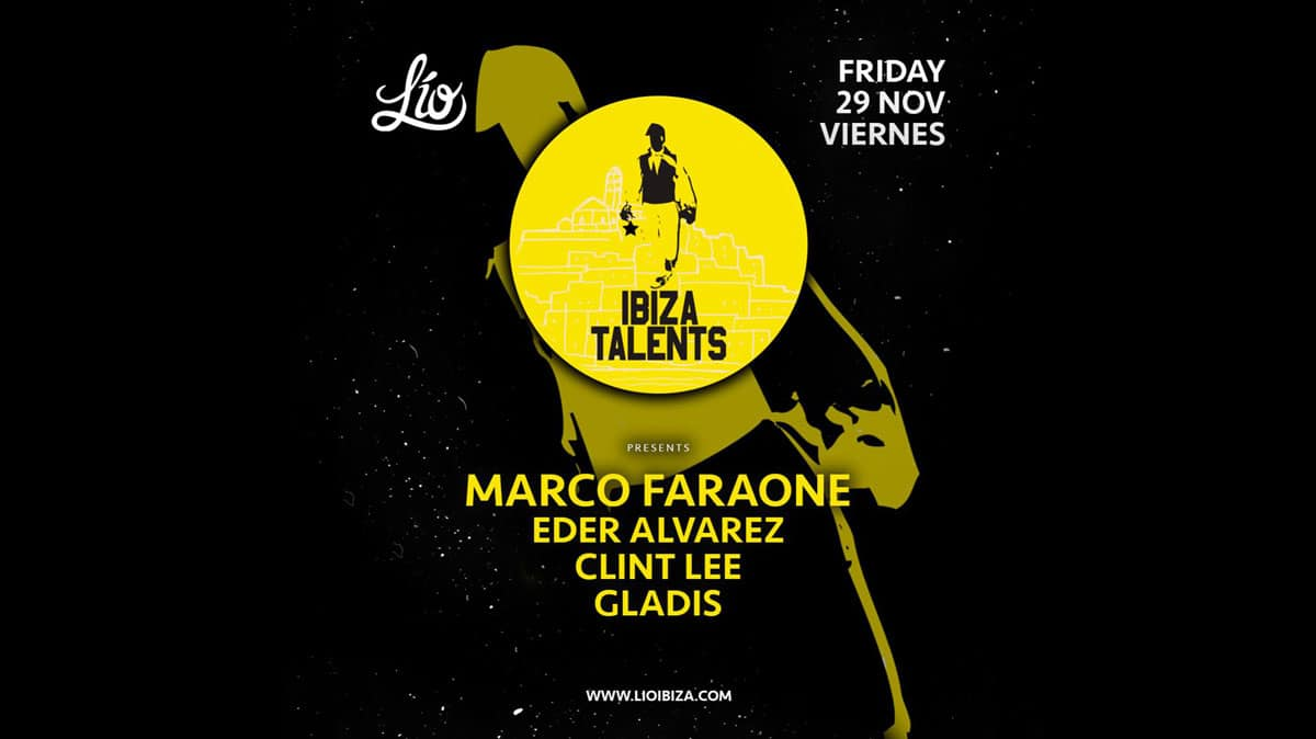Marco Faraone auf der Ibiza Talents Party in Lío Ibiza