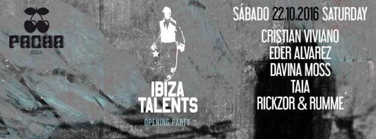 Uragano musicale il sabato a Pacha Ibiza con la festa di Ibiza Talents
