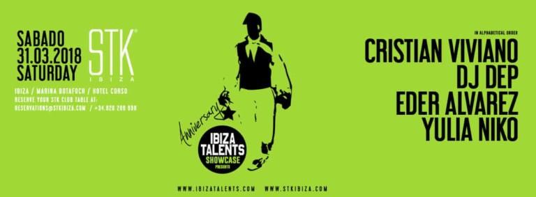 Anniversary of Ibiza Talents on Saturday at STK Ibiza