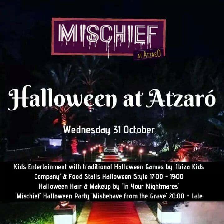 Festa di Halloween per bambini presso Atzaró Ibiza con Ibiza Kids Company