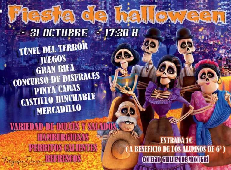 Festa di Halloween per bambini presso il CEIP Guillem de Montgrí